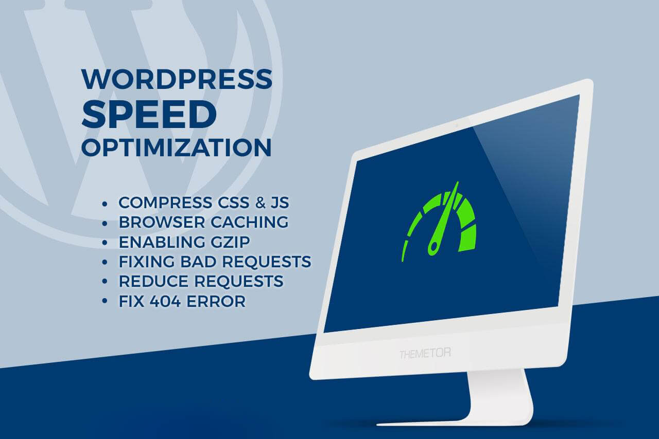 Wordpress Speed Optimization Speed Up WordPress Website Complete Guide Step By Step 2020