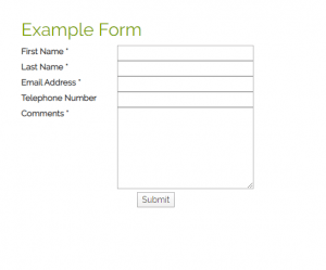 Create A Simple Contact Form In HTML And PHP
