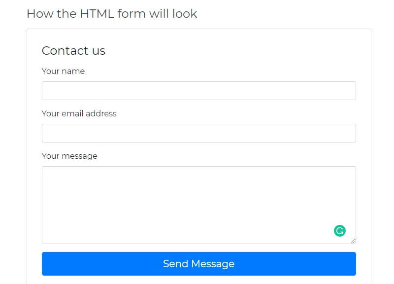 Create Contact Form Using HTML And PHP Best Guide In 2021