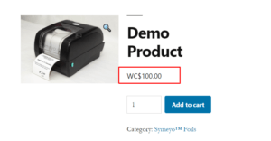 Custom Currency And Symbol In WooCommerce