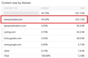 Render blocking YouTube scripts Speed Up WordPress Website